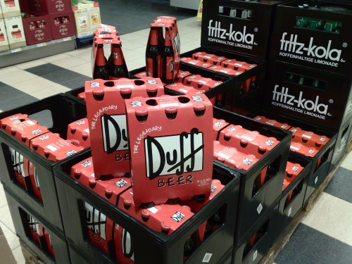 The Legendary Duff Beer